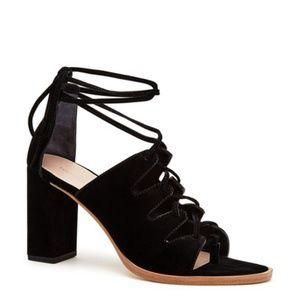 NWOT Loeffler Randall Helene Lace Up Sandals SZ 5